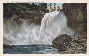 Beautiful Snoqualmie Falls Spokane Washington