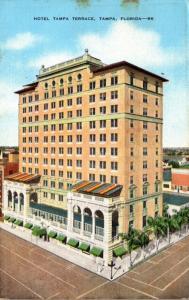 Florida Tampa Hotel Tampa Terrace 1949