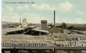 OKLAHOMA CITY, 1900-10s; Cotton Compress