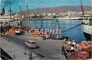 Postcard Modern Tenerife Santa Cruz de Tenerife Mole Creek Boat