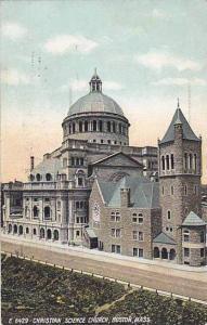Christian Science Church, Boston, Massachusetts, PU-1908