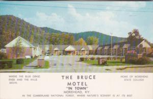 Kentucky Morehead The Bruce Motel 1960