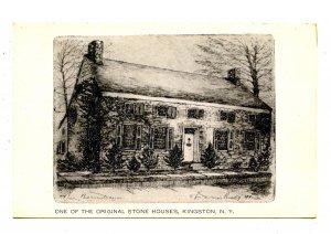 NY - Kingston. One of the Original Stone Houses