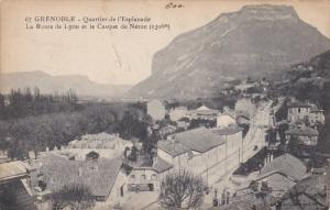 Quartier De l'Esplanade, La Route De Lyon Et Le Casque De Neron, GRENOBLE (Is...
