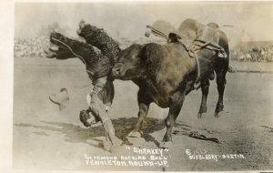 Pendleton Oregon Round-Up Rodeo, 1913