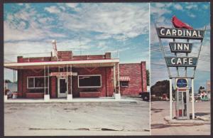 Cardinal Inn Cafe,Pittsfield,IL Postcard