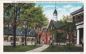 Home Moravian Church, Founded and Built over 100 Years ago, Winston-Salem, No...