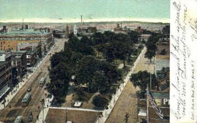 Broad street newark nj 1907 hippostcard for 97 the terrace ocean grove