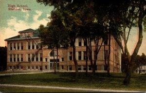Iowa Sheldon High School