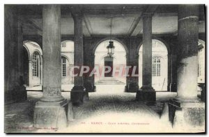 Old Postcard Courthouse Nancy Court of Appeal Interior