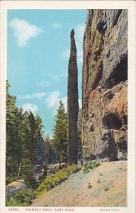 Chimney Rock Cody Road Wyoming