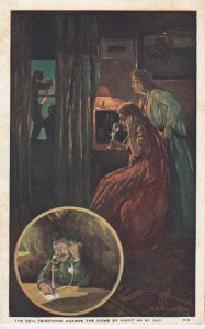 The BELL TELEPHONE Guards the Home by Night as by Day, 1900-10s; Calling Police