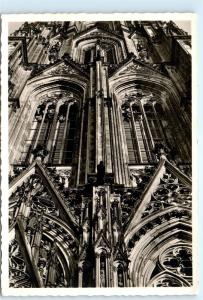 *1950s Cathedral Church Cologne Germany Vintage Postcard C60