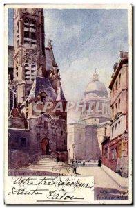 Paris Old Postcard St Etienne du Mont