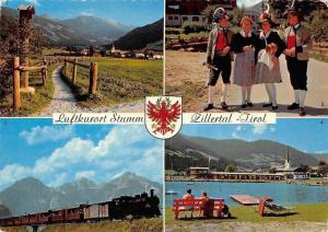 Luftkurort Stumm Zillertal Tirol, Gerlostein, Zillertalbahn, Trachten Schwimmbad