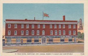 St. Regis Hotel, North Bay, Ontario, Canada, 1930-1940s