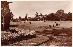 Macclesfield Bowling Green West Park