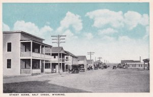 SALT CREEK, Wyoming, 00-10s ; Street Scene