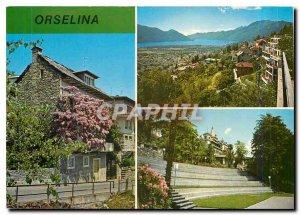 Postcard Modern Sopra Locarno Orselina