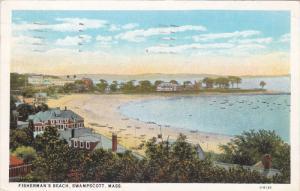 SWAMPSCOTT, Massachusetts; Fisherman;s Beach, PU-1928