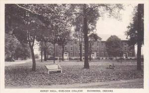 Indiana Richmond Bundy Hall Earlham College Albertype