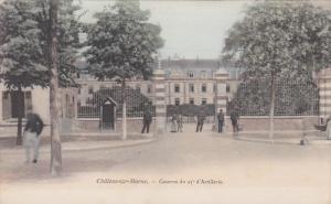 Chalons-Marne, Caserne du 25 d'Artillerie, Marne, France, 00-10s