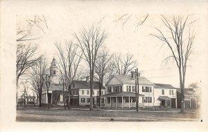 G31/ Cambridge Massachusetts RPPC Postcard c1910 Church Parsonage Home 5