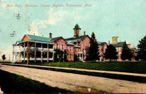 Michigan Kalamazoo Male Department Michigan Insane Asylum 1909