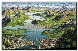 Old Postcard Luzern