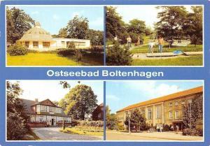 Ostseebad Boltenhagen, HO-Gaststaette Pavillon, Minigolfanlage, Haus am Meer