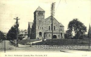St. John's Methodist Church New Rochelle NY Unused