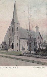 RENFREW, Ontario, Canada, 1911; St. Andrew's Church