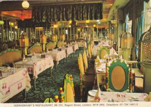 Veeraswamy's Restaurant , LONDON , England , 1986