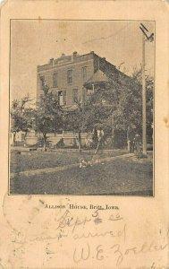 LP03 Britt Iowa Postcard Allison House