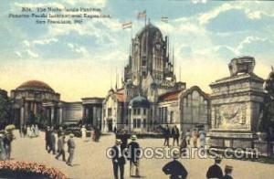 Netherlands Pavilion 1915 Panama International Exposition, San Francisco, Cal...