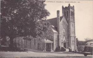 Vermont Middlebury Catholic Church Artvue