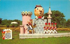 LP51   Grand Island New York Postcard Fantasy Island  Humpty Dumpty Fables
