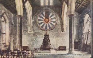 England Winchester King Arthur's Round Table and Queen Victoria Statue