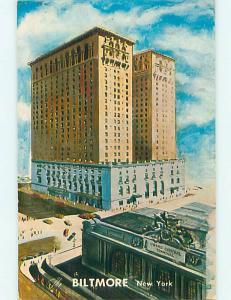 Unused Pre-1980 BILTMORE HOTEL Manhattan New York NY Q5571@