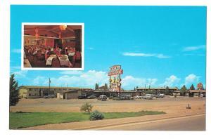 Winslow AZ Entre Restaurant and Motel Rte 40 Vintage Postcard