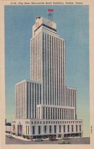 Texas Dallas New Mercantile Bank Building Curteich
