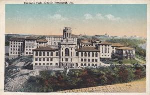 PITTSBURGH, Pennsylvania; Carnegie Tech Schools, 10-20s