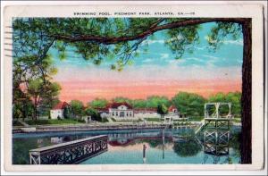 Swimming Pool, Piedmont Park, Atlanta GA