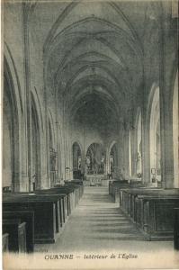 CPA Quanne - Int. de l'Église (108522)