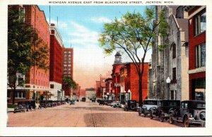 Michigan Jackson Michigan Avenue East From Blackstone Street