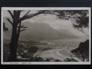 South Africa: Capetown, Camps Bay - Old Postcard
