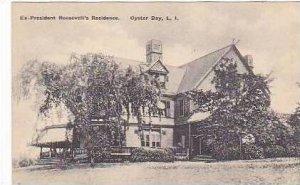 New York Oyster Bay EX President Roosevelts Residence Albertype