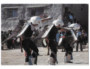 Native American Acoma Pueblo Eagle Dancers  New Mexico 4 by 6
