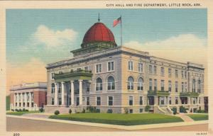 LITTLE ROCK , Arkansas , 30-40s ; City Hall and Fire Department