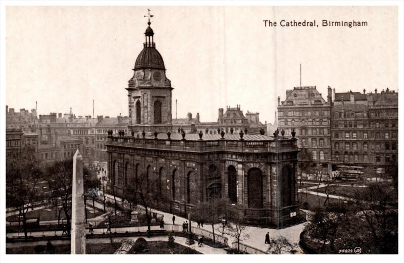 15145 England Birmingham 1912   The Cathedral
